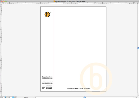 letterhead template design for microsoft word part 1 baytek