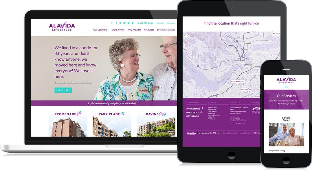 Alavida Website