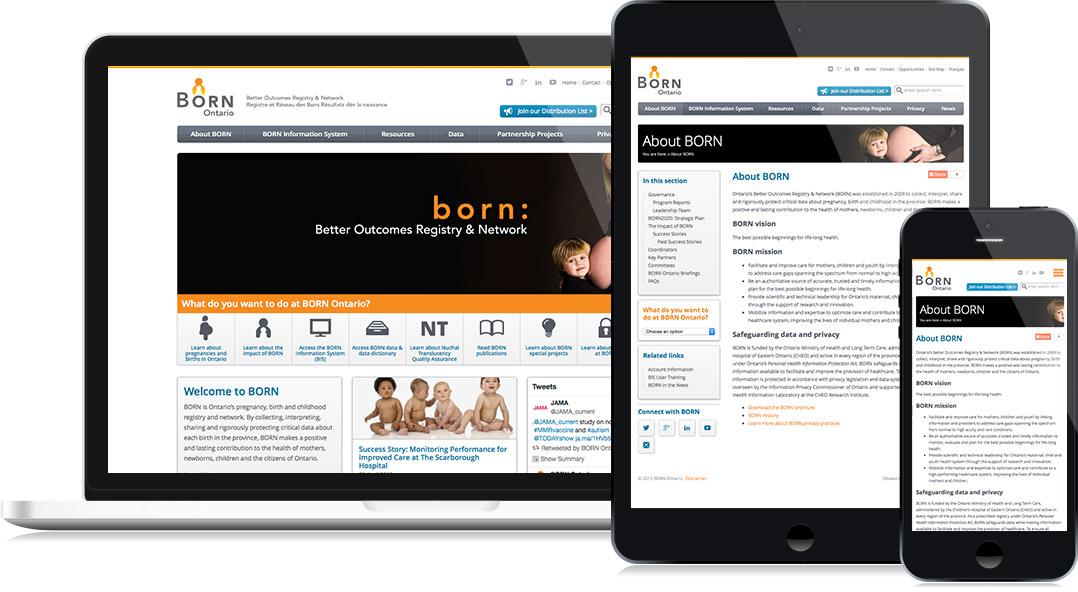 BORN Ontario Website