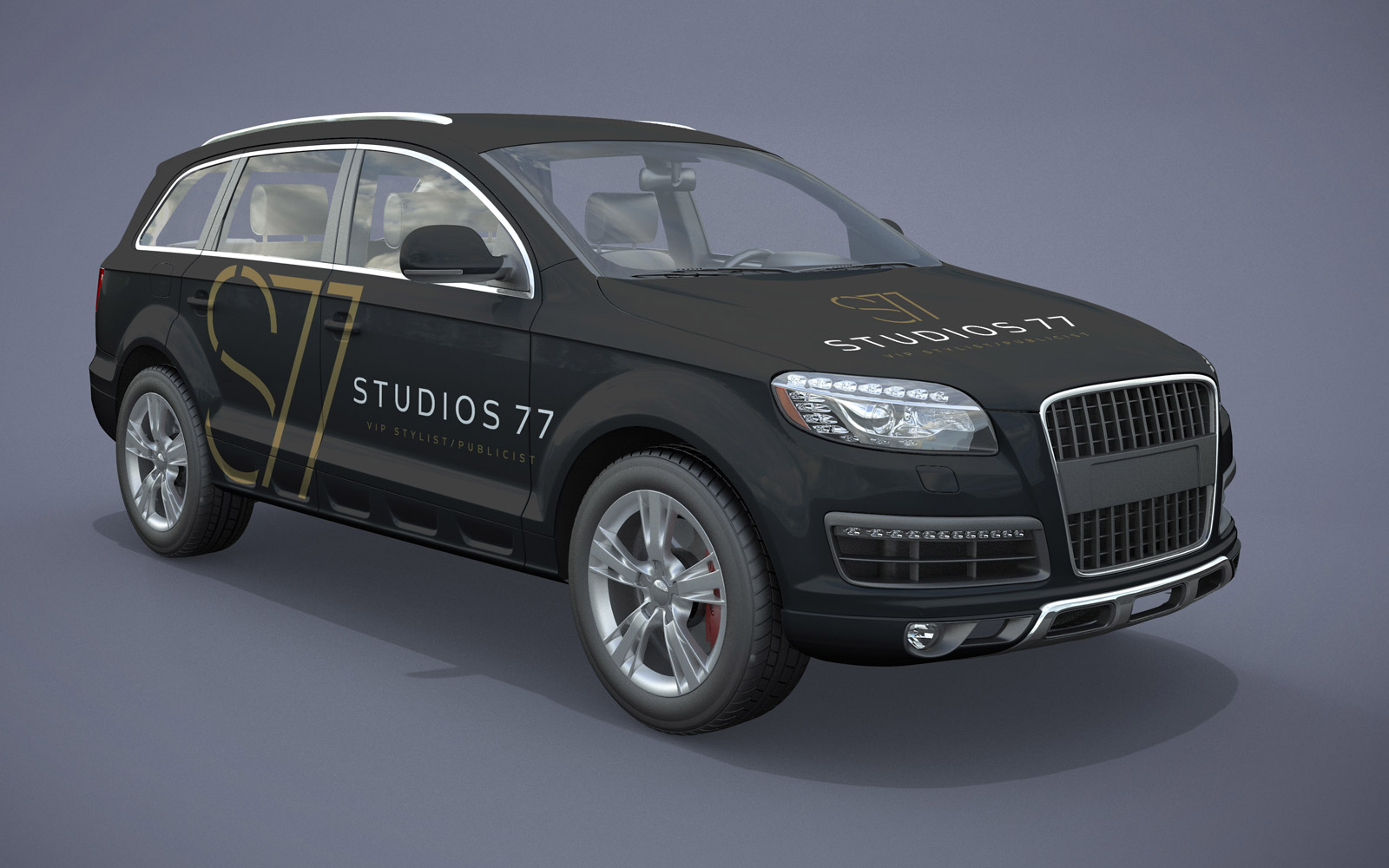 Studios 77 - Car Wrap Design