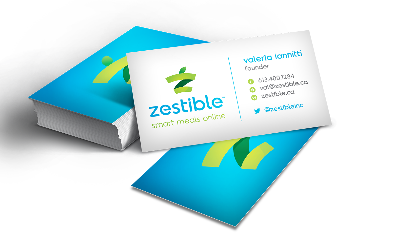 Zestible Business Cards