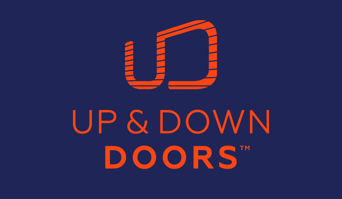 Up and Down Doors - Logo