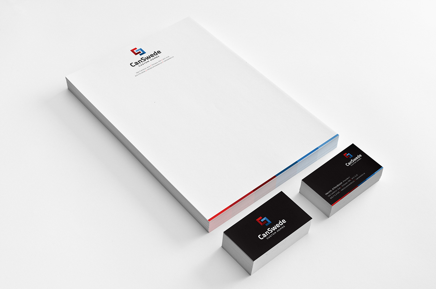CanSwede Homes - Stationery