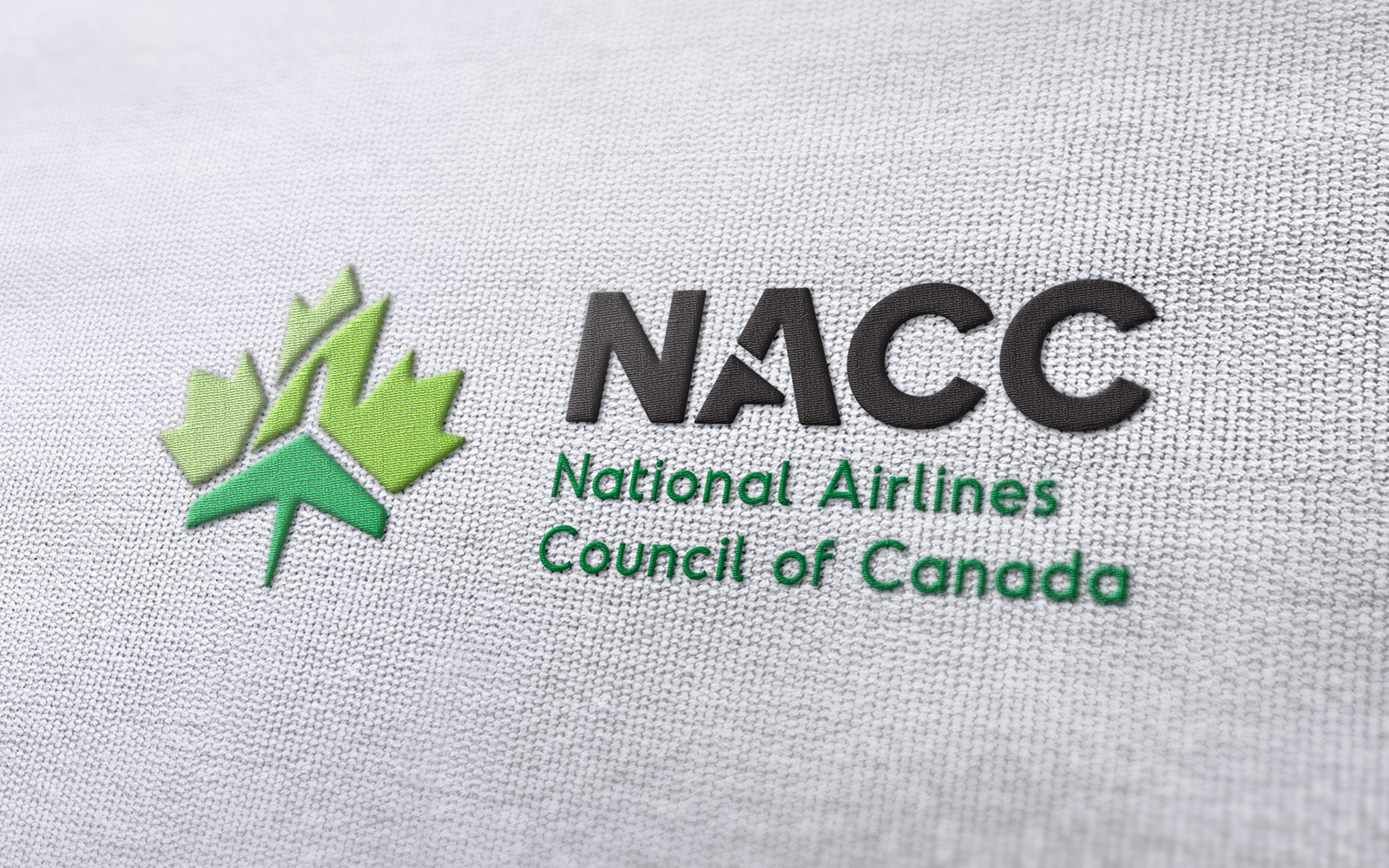 National Airlines Council of Canada - Logo Design Embroidered