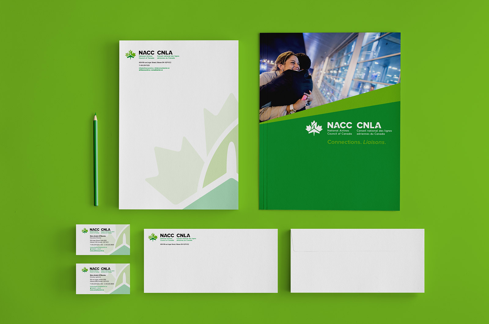 National Airlines Council of Canada - Stationery