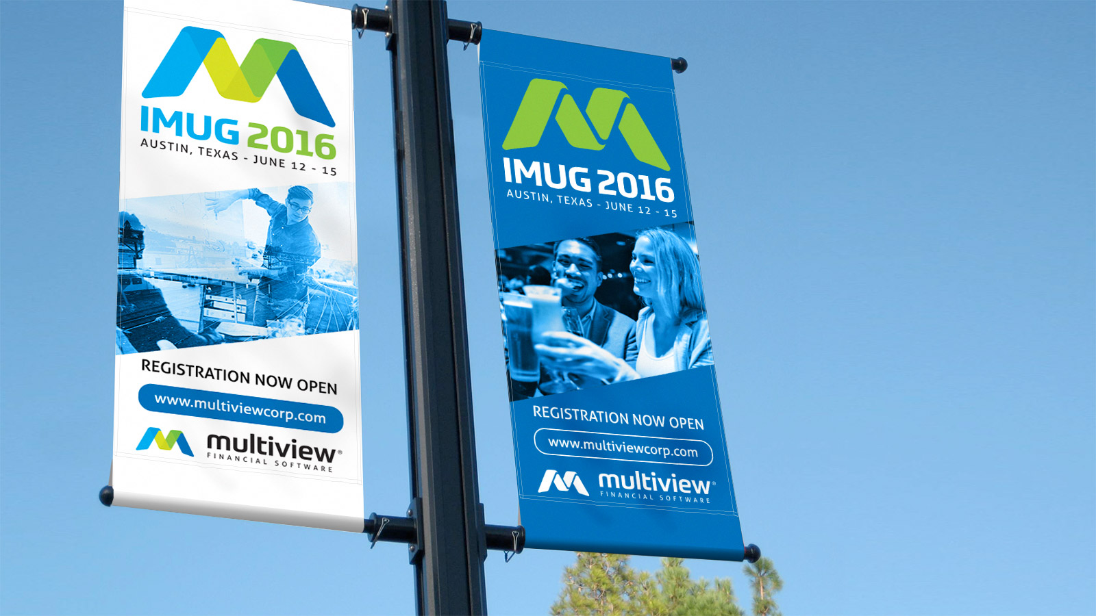 Multiview - User Conference Graphics
