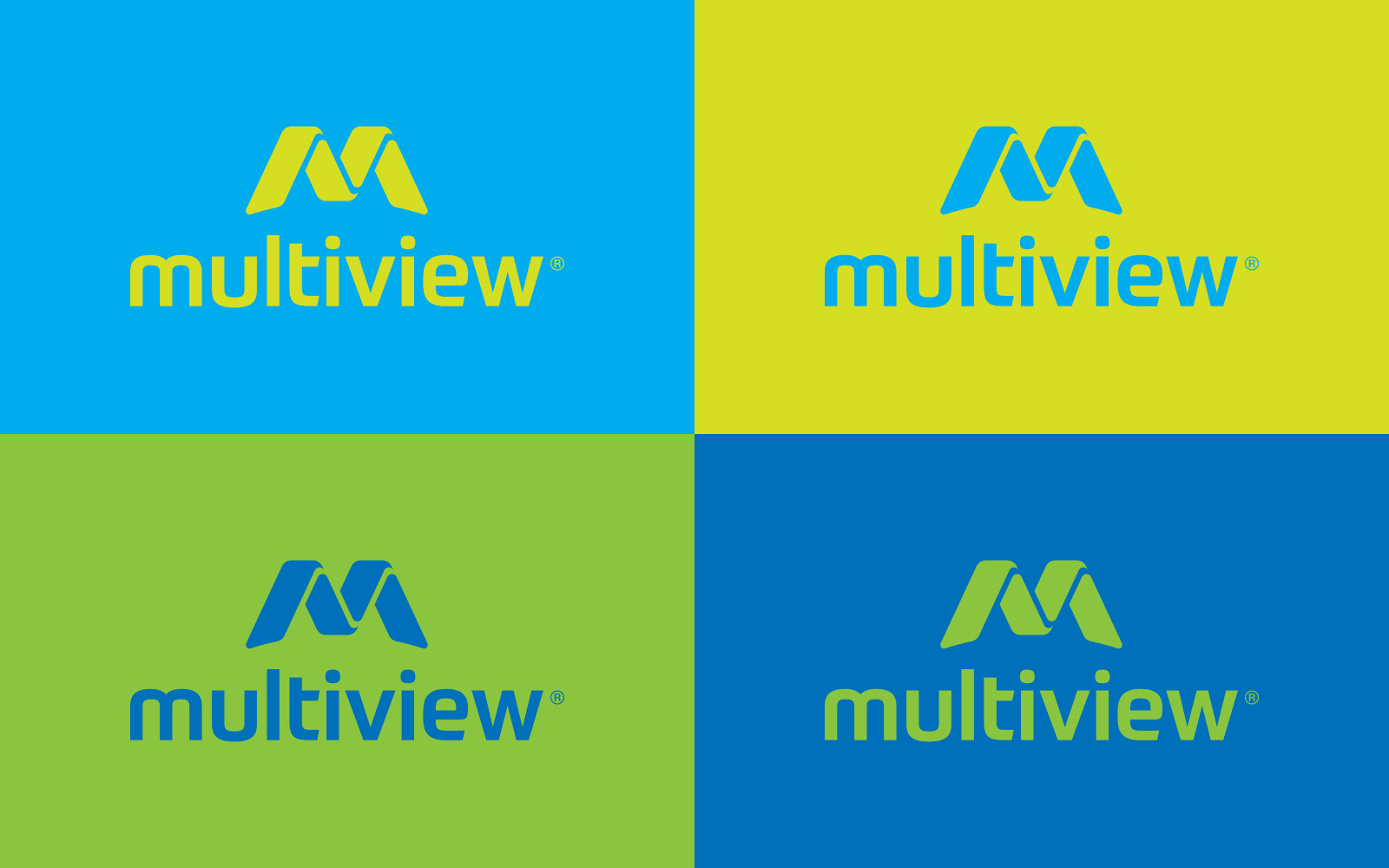 Multiview - Logo Design Colours