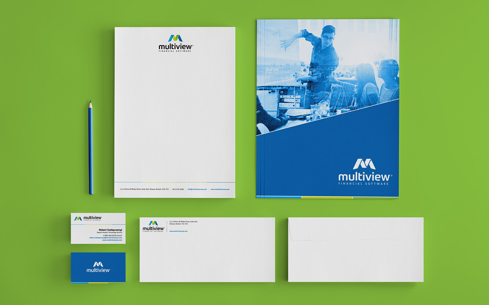 Multiview - Stationery Design