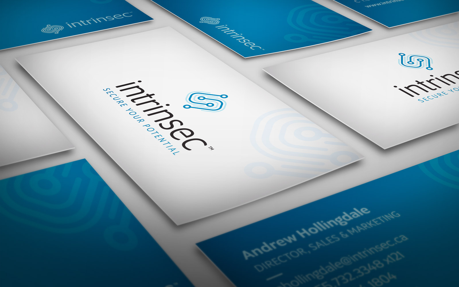 Intrinsec - Business Card Design