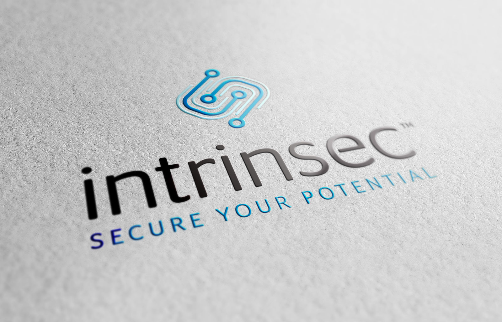 Intrinsec - Logo Design UV Spot