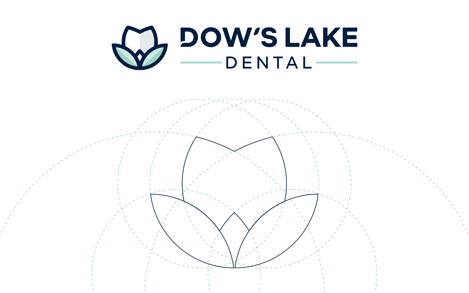 Dow's Lake Dental - Logo Design Formation