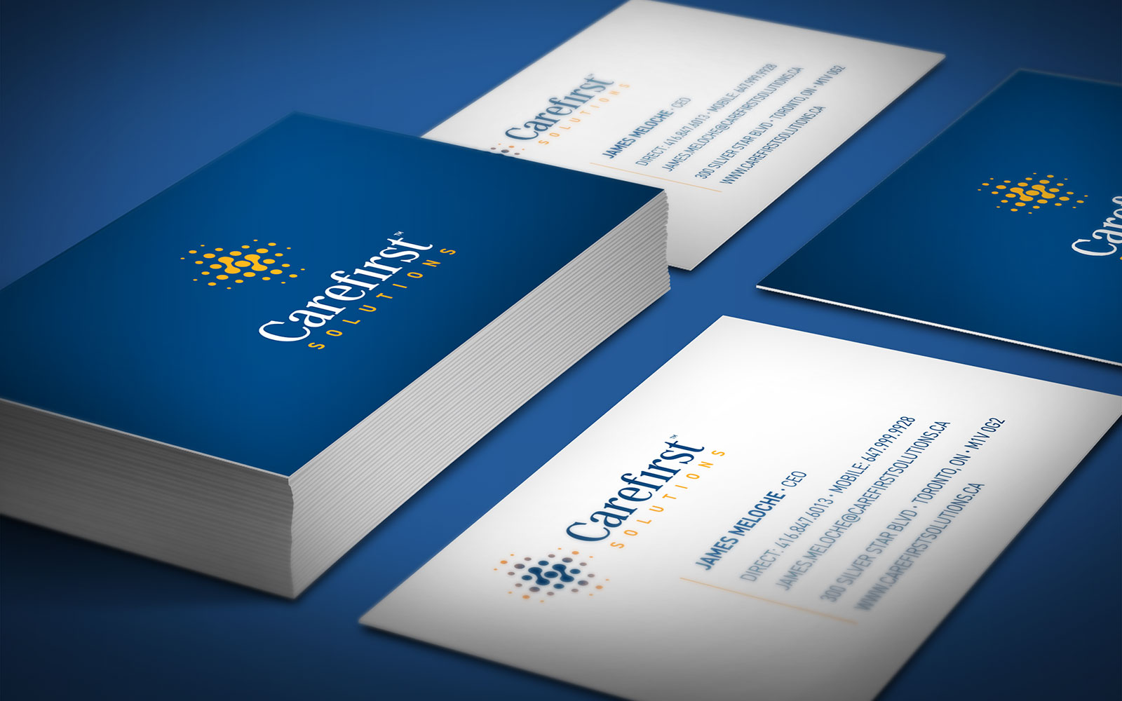 Carefirst Solutions - Business Card Design