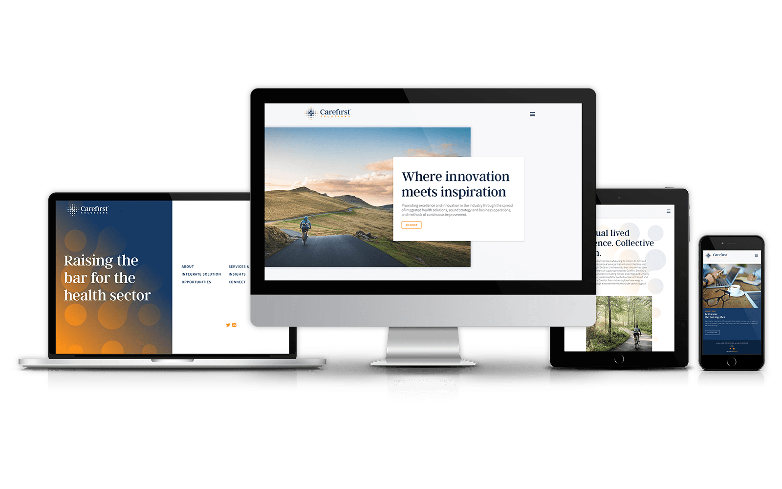 Carefirst Solutions - Responsive Design