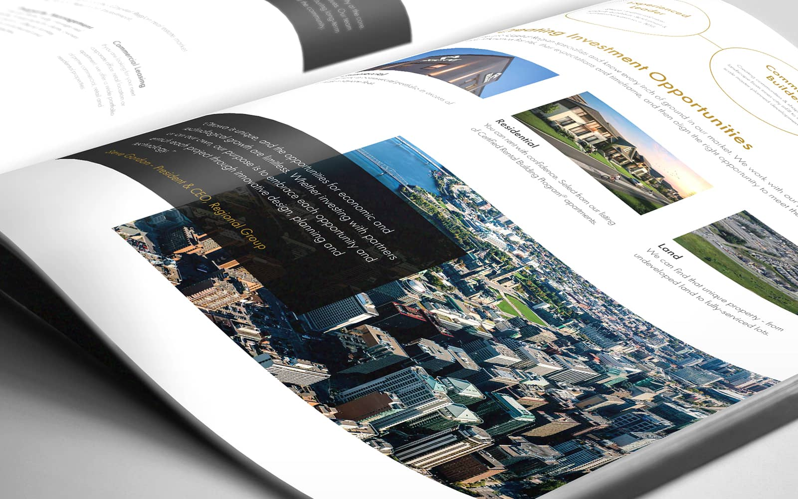 Regional Group - Brochure Design