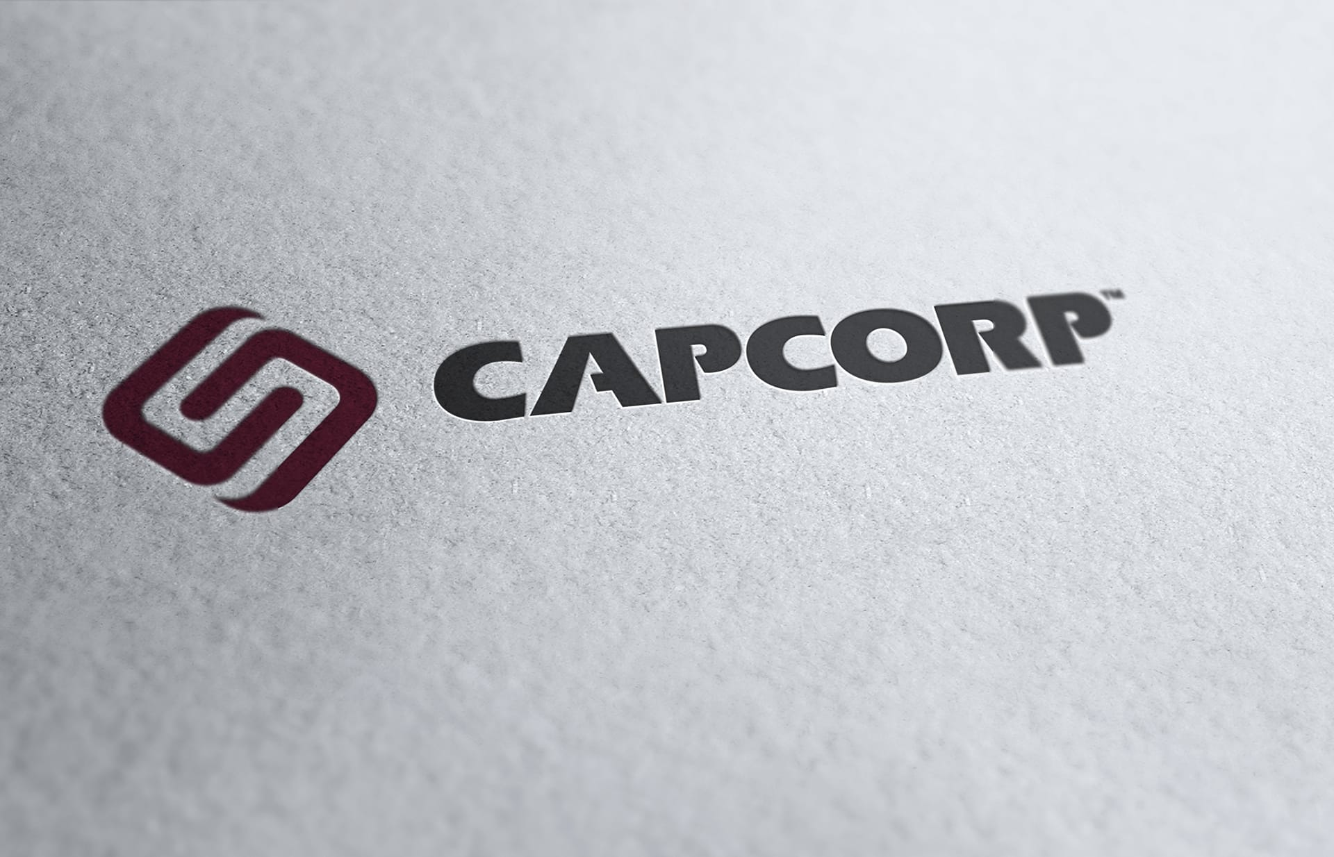 CAPCORP - Logo Letterpress