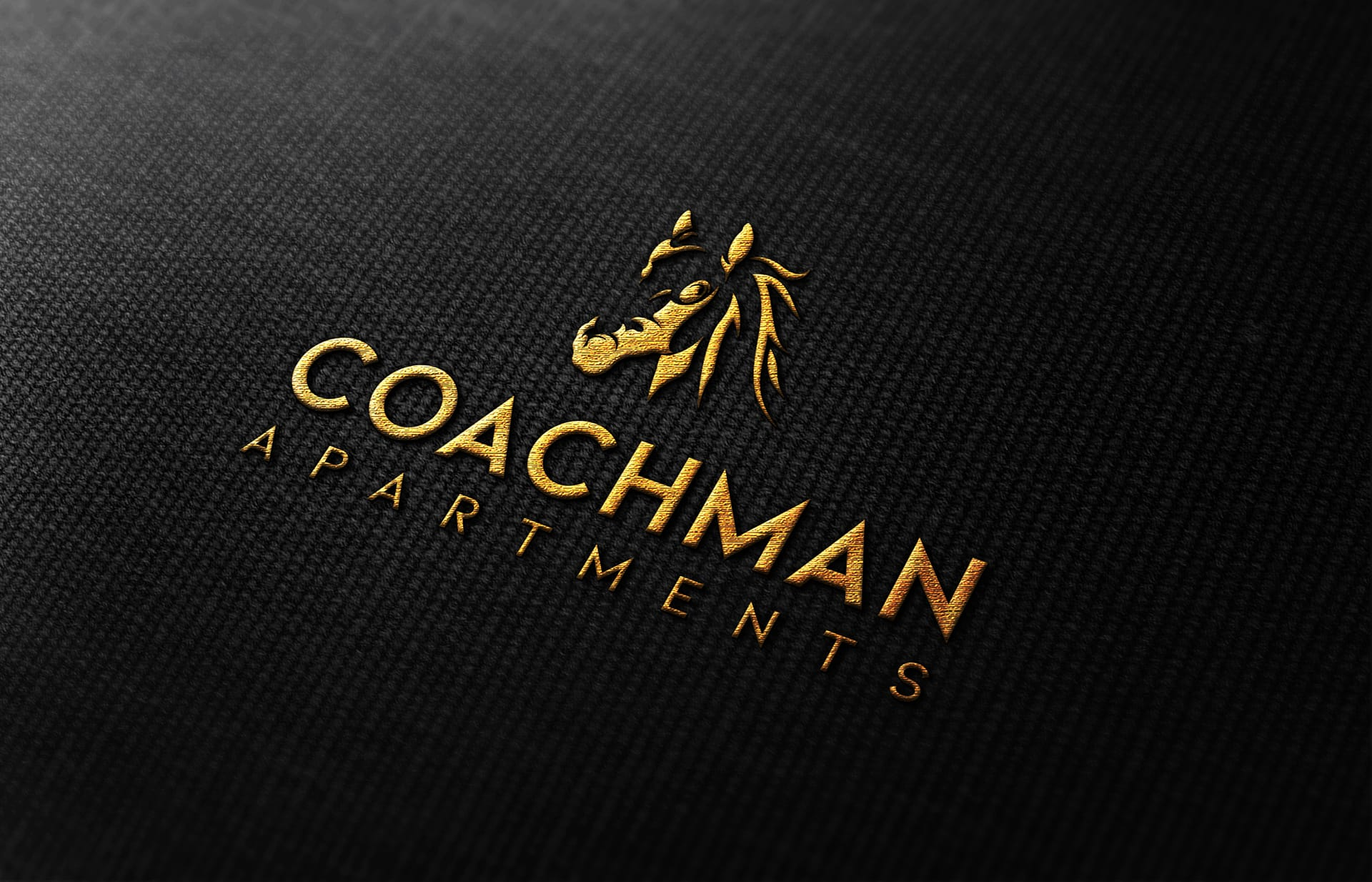 Coachman Logo Design - Cotton Shirt