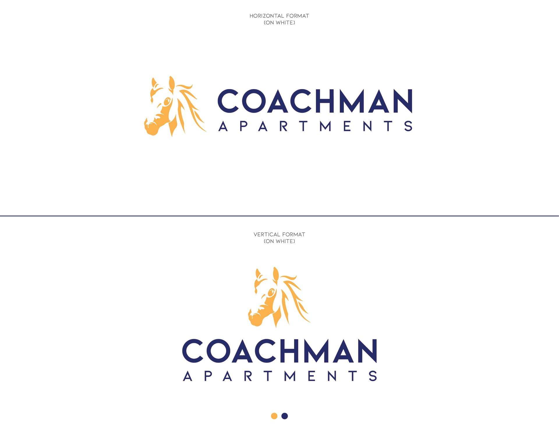 Coachman Logo Design - On White