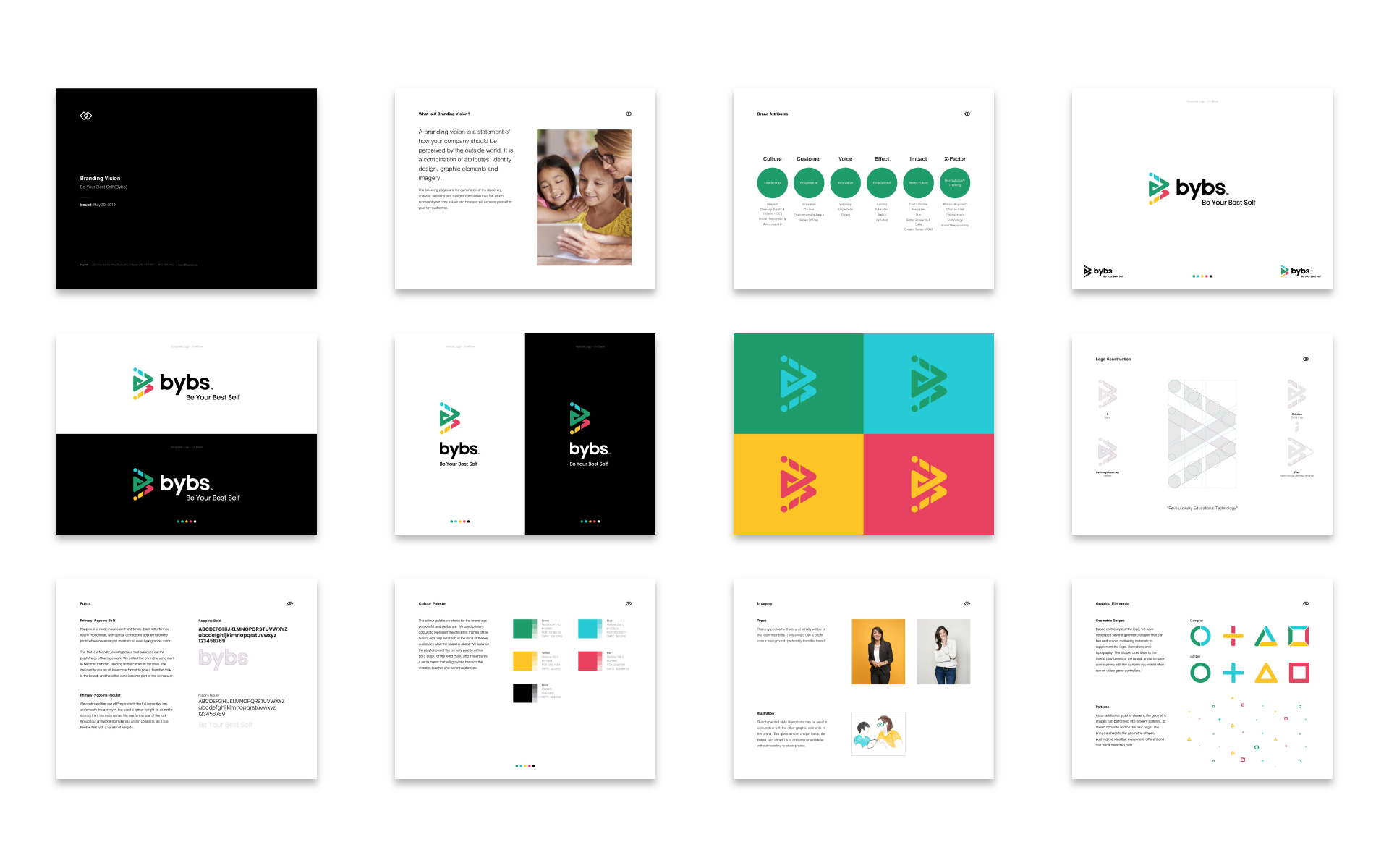 BYBS  - Branding Vision Layout