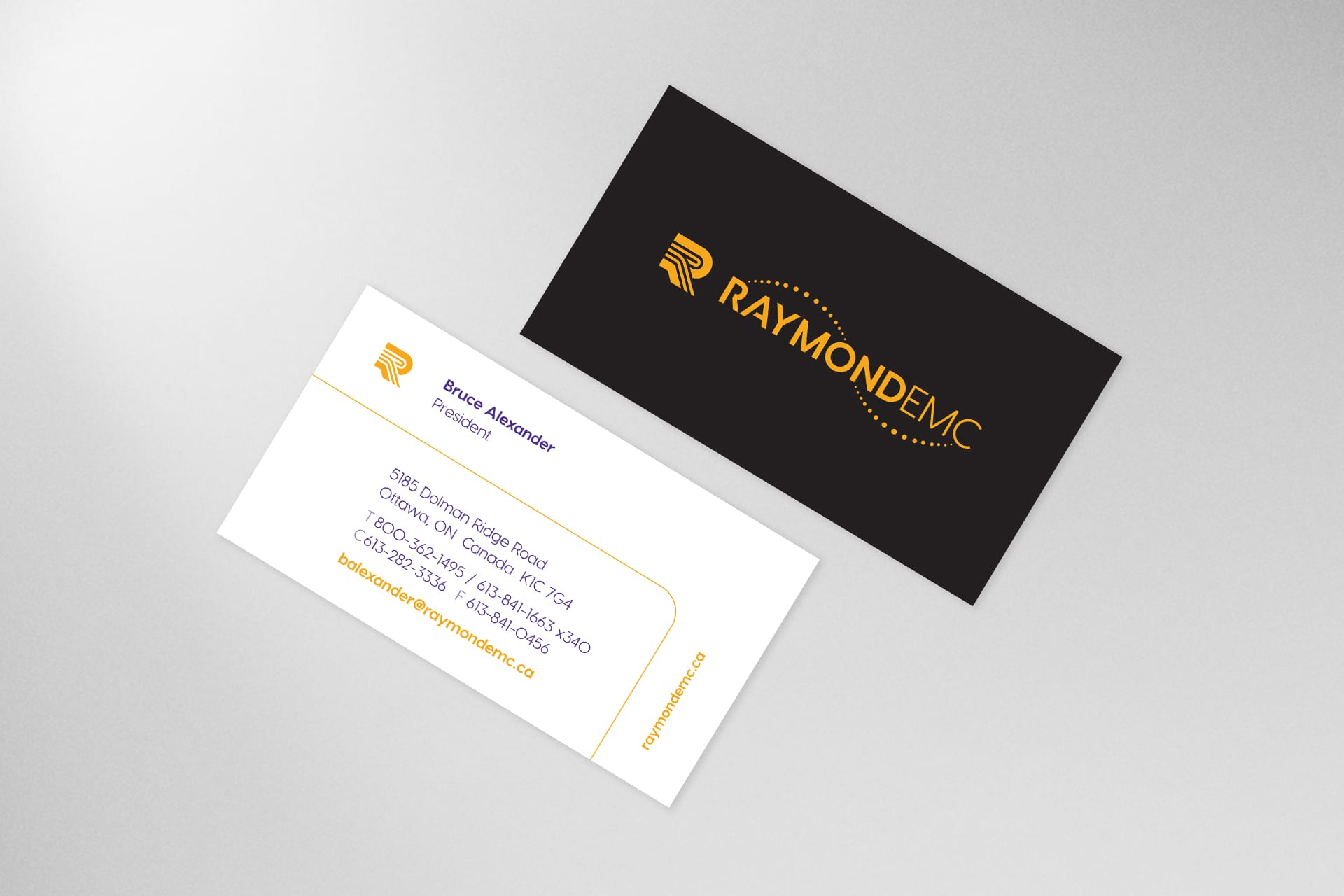 REMC - Business Card Design