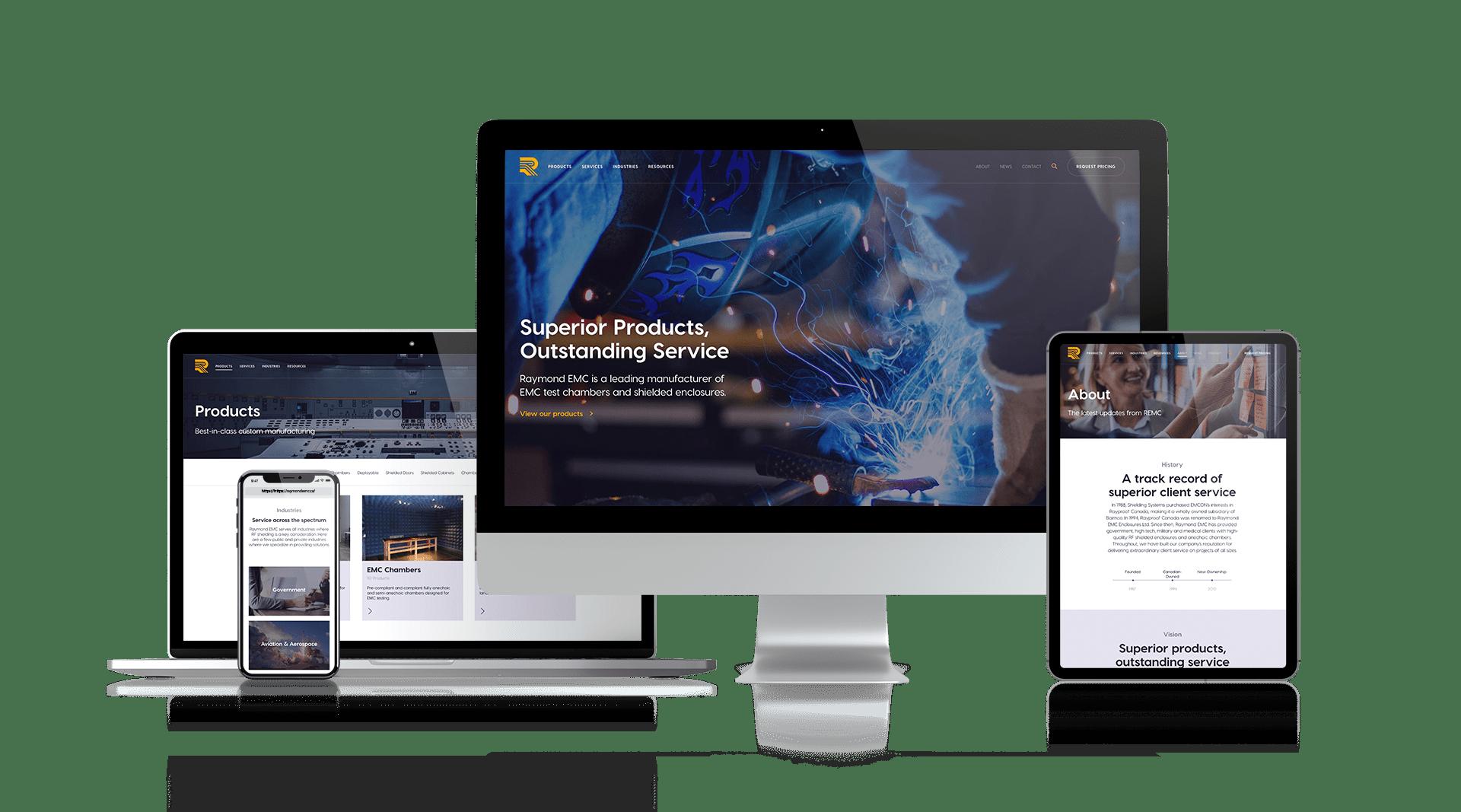 REMC - Responsive Website Design