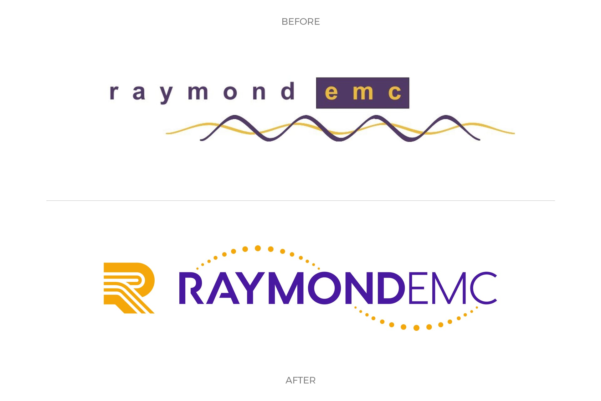 REMC - Logo Design (Before and After)