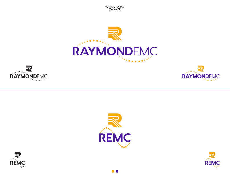 REMC - Logo Design (Vertical)