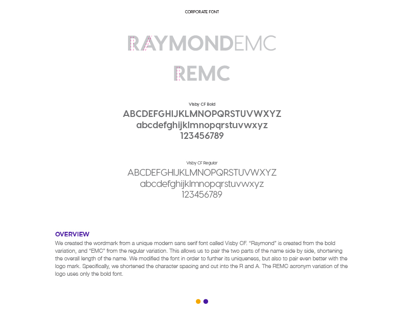 REMC - Logo Design (Font)