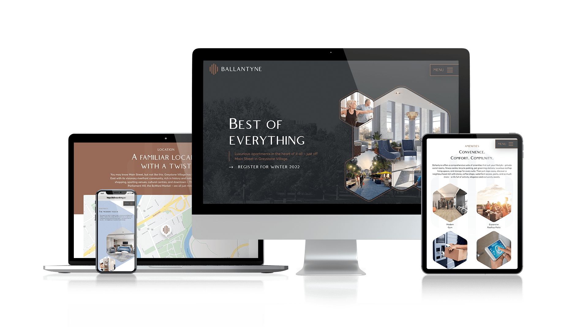 Ballantyne - Responsive Website Design