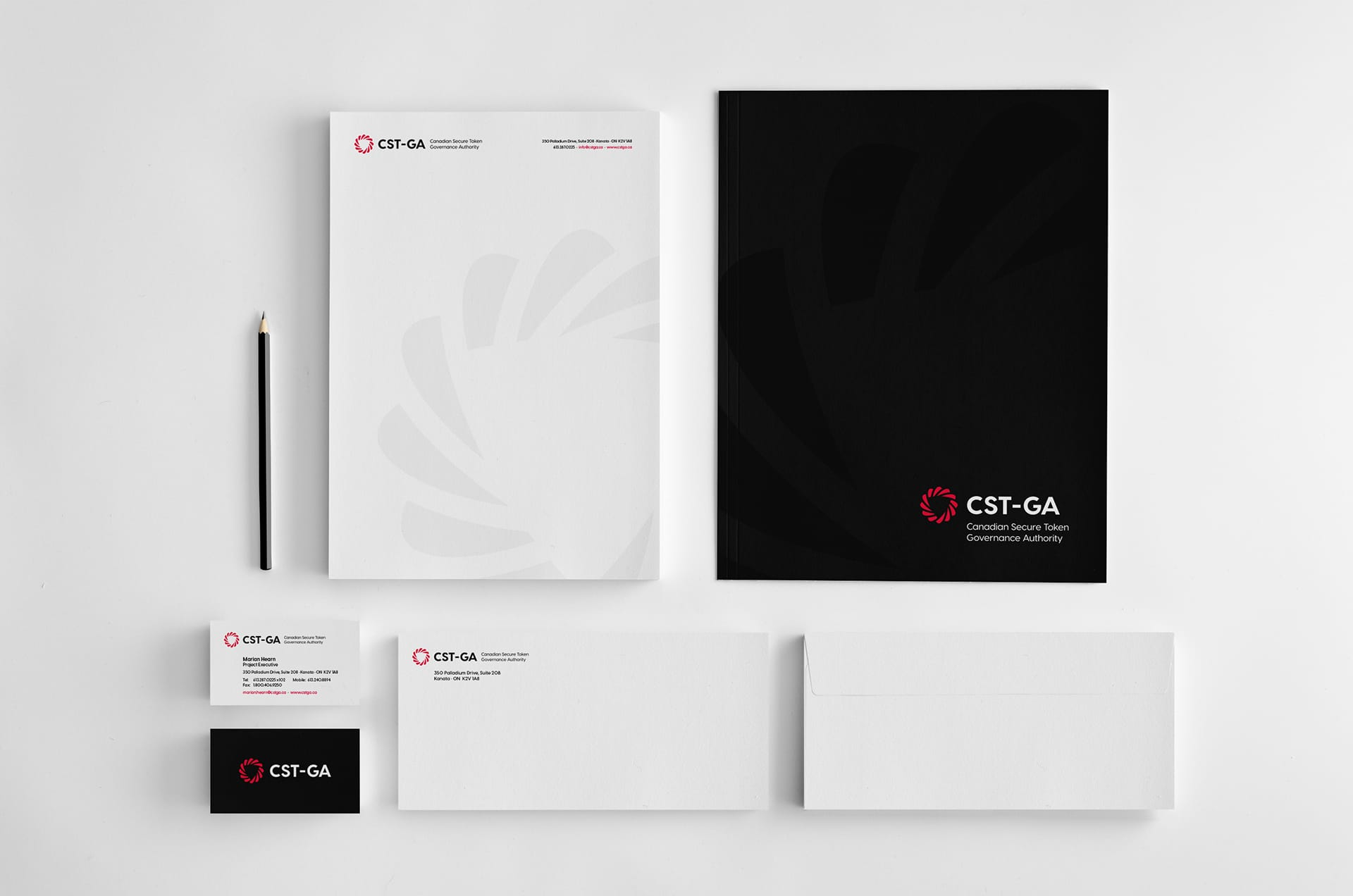 CSTGA - Stationery Design