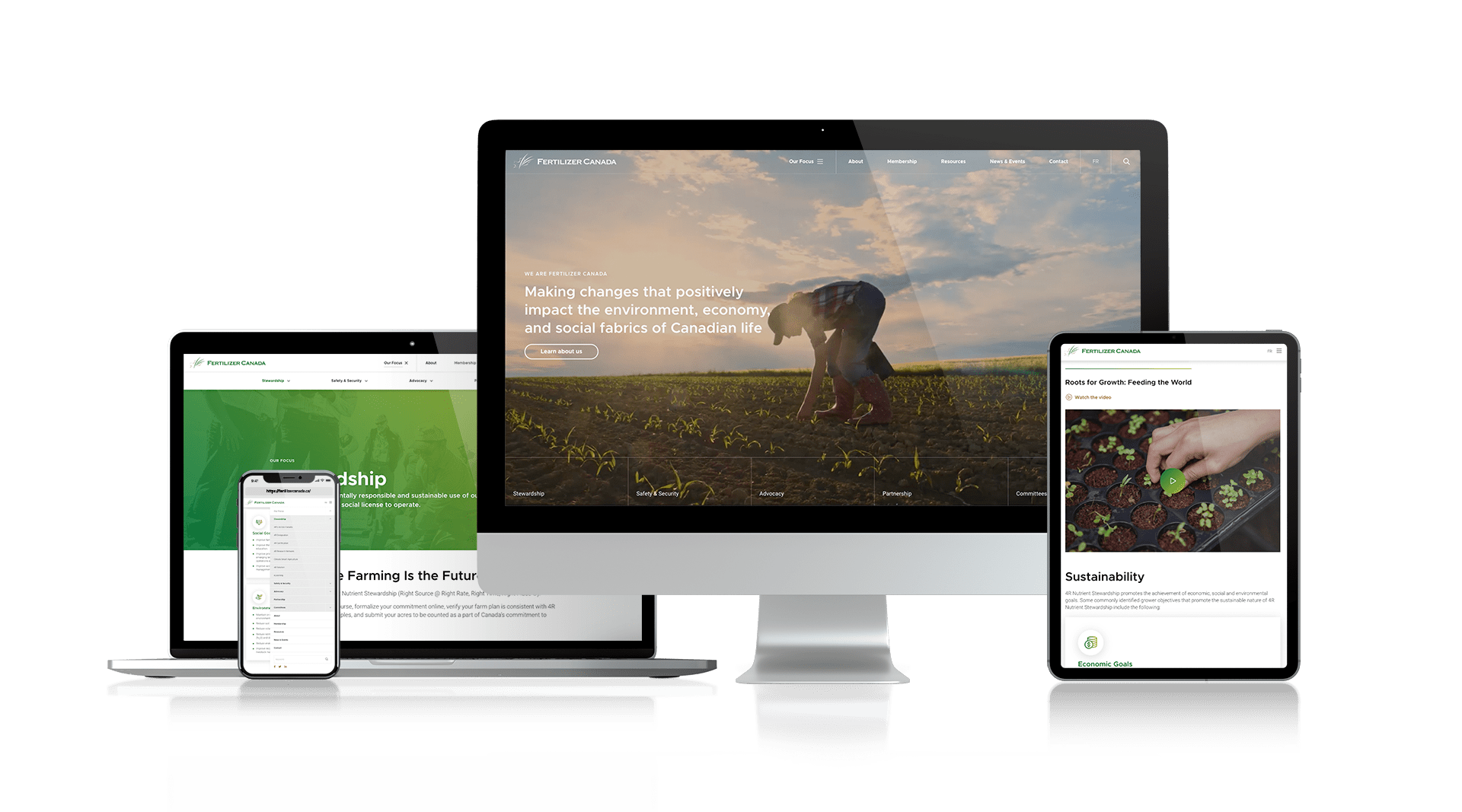 Fertilizer Canada - New Responsive Website Design