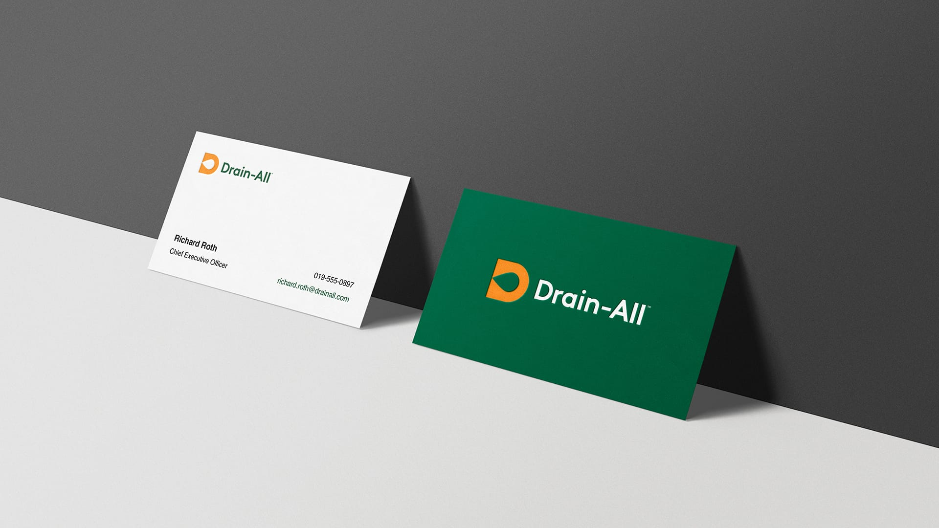 Drain-All - Business Cards