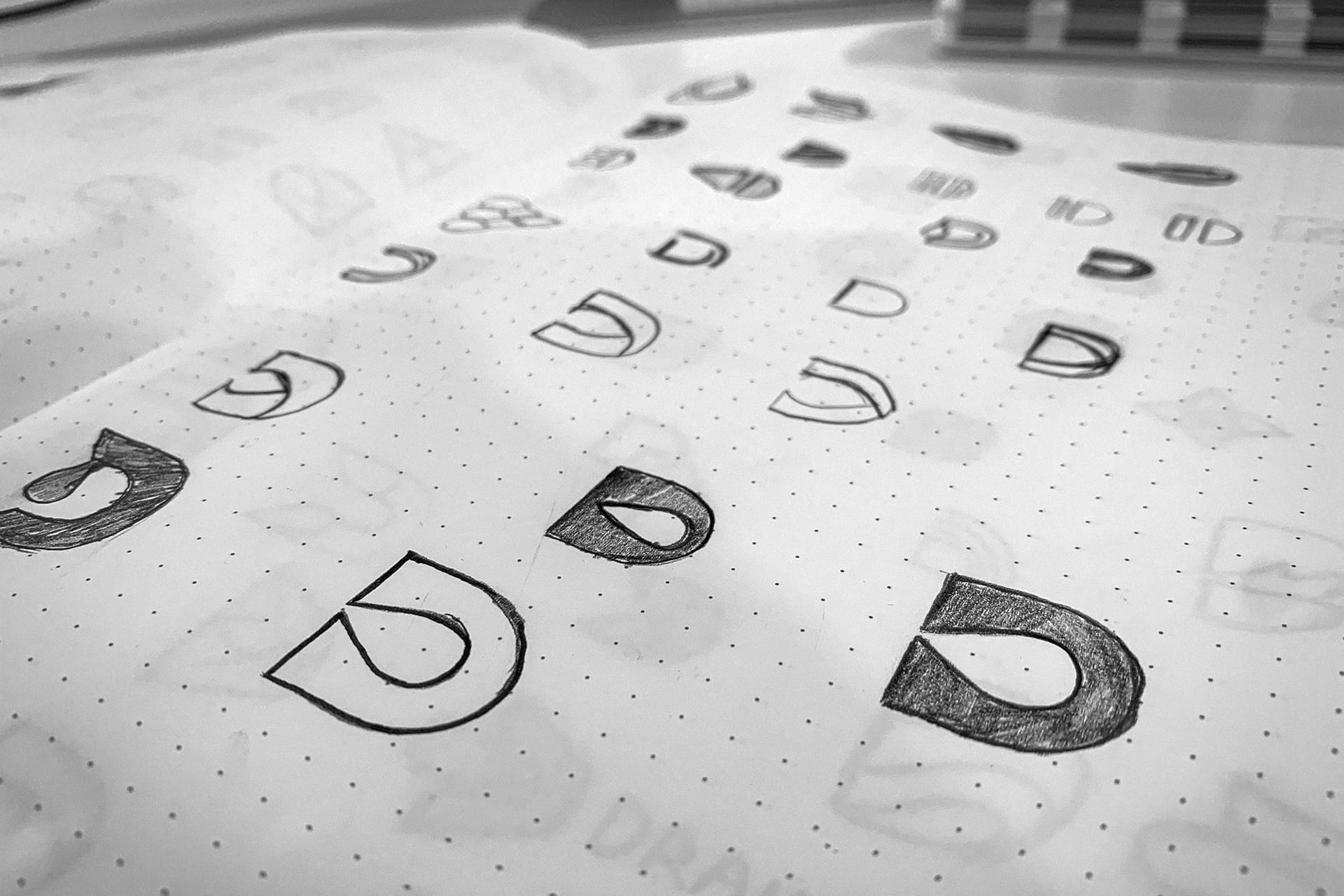 Drain-All - Logo Design Sketches